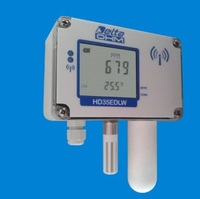 Temperature, humidity and carbon dioxide (CO2) wireless data logger, IP67 waterproof housing