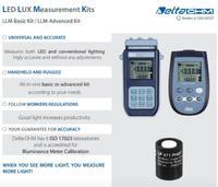 LUX meten voor conventioneel of LED licht: simple, snel en direct.