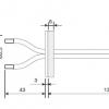 AP3719 - S-Pitot/ inlaat voor kanaalmontage.