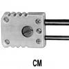 CM - Thermokoppel connector K Male