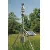 HDMCS-100 - Meteo Compact Station, the AWS that is ready to use and simple to set up. Automatic Weather Station measuring: windspeed, direction, humidity, dewpoint, temperature, barometric pressure and rainfall. Communication and solar panel included.