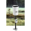 HD2013 - Regenmeter, Rain gauge of Pluviometer met tipping bucket systeem, 400cm2, temp. range +4...60°C. Resolutie 0,1mm of 0,2 of 0,5mm.