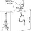 HP3217DM - Dubbele natuurlijke ventilatie wet bulb probe en °C probe (dry bulb). Probe Ø 14 mm, 110 mm. kabel 2 mt. SICRAM