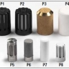 P6 - 20µ sintered SS protection for probes diameter 26, thread M124*1