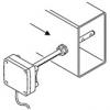 PG16.12 - Bevestigingswartel voor montage van probes 12mm