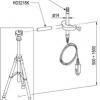 TP3207 - Pt100 sensor °C probe. Probe Ø 14mm, 140 mm. kabel 2 mt. Sircam.