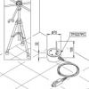 TP3227PC - C probe samengesteld uit 2 onafhankelijke probes, Pt100 sensor, 1 GROND °C (diam.Ø 70 mm, hoogte 30 mm), de andere voor °C bij de enkels (diam.Ø 3 mm, hoogte 100 mm). kabel 2 mt. SICRAM
