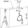 TP3276 - Globe °C probe, Pt100 sensor, globe Ø 50 mm. Ø 8 mm, 110 mm. kabel 2 mt. Sircam.